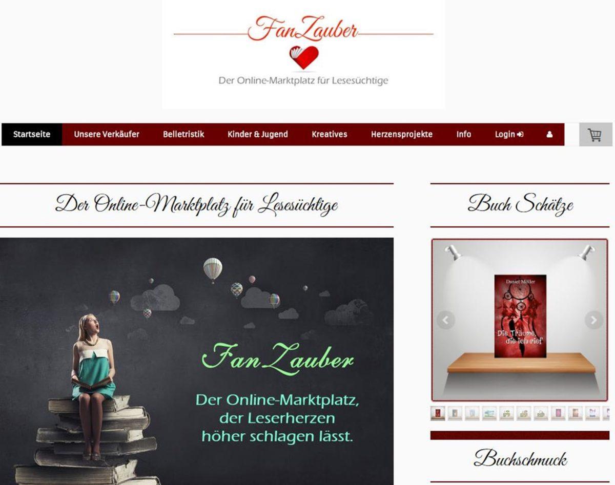 FanZauber – Der Online-Marktplatz für Lesesüchtige
