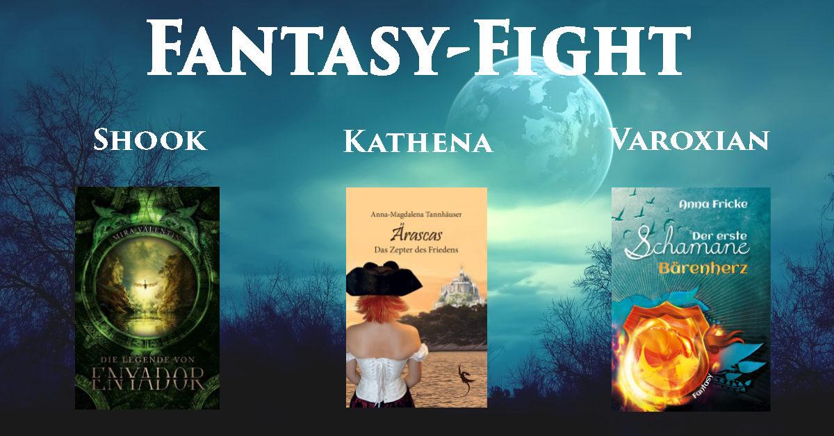 Fantasy Fight: Mira Valentin vs Anna-Magdalena Tannhäuser vs Anna Fricke